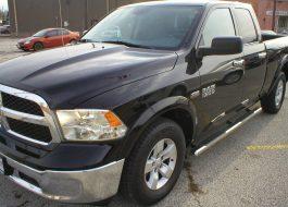 2014 Dodge Ram 1500 Quad Cab SLT 4-Door Black - Fred Pilkilton Motors - Denison Texas