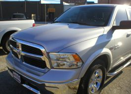 2016 Dodge Ram 1500 SLT Quad Cab 4-Door Pickup Silver - Fred Pilkilton Motors - Denison Texas