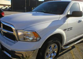 2016 Dodge Ram 1500 SLT Quad Cab 4-Door Pickup White - Fred Pilkilton Motors - Denison Texas
