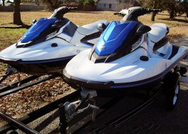 Yamaha WaveRunners EX Sport 2017 Model - White w/Blue Trim - Fred Pilkilton Motors - Denison Texas