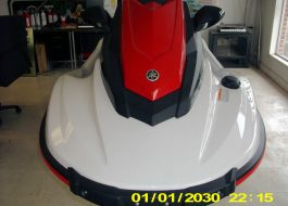 2018 Yamaha Wave Runner EX Sport PWC Jet Ski Red-Blk-Wht - Fred Pilkilton Motors in Denison Texas