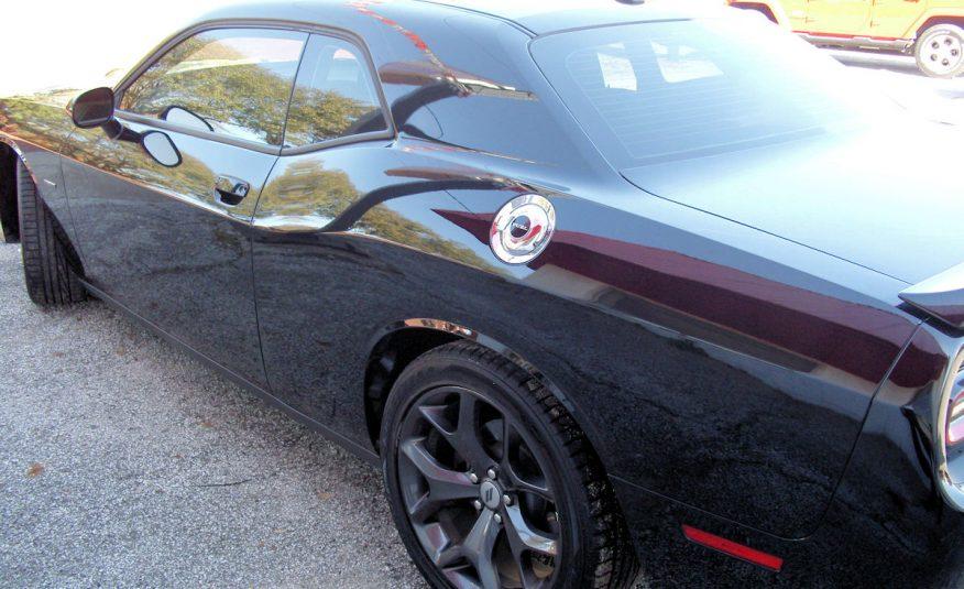 2019 Dodge Challenger R/T 2 Door Coupe Black – Fred Pilkilton Motors in Denison Texas