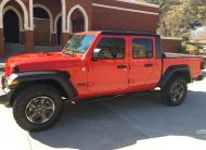 2020 Jeep Gladiator GT Crew Cab Pickup 4X4 Firecraker Red - Fred Pilkilton Motors in Denison Texas